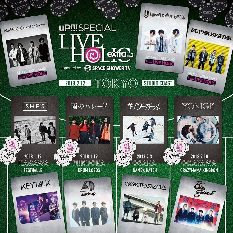 uP!!! SPECIAL LIVE HOLIC extra vol.2