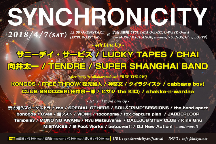 SYNCHRONICITY'18 After Party!!